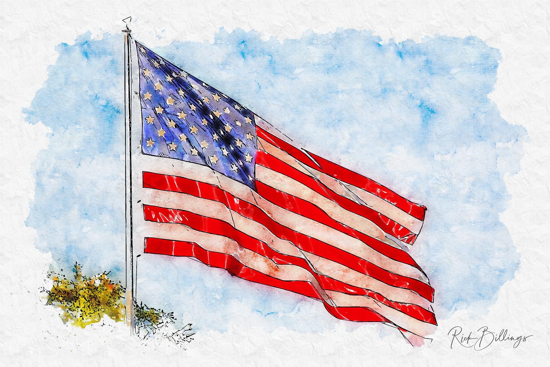 No 1151 2019 American Flag