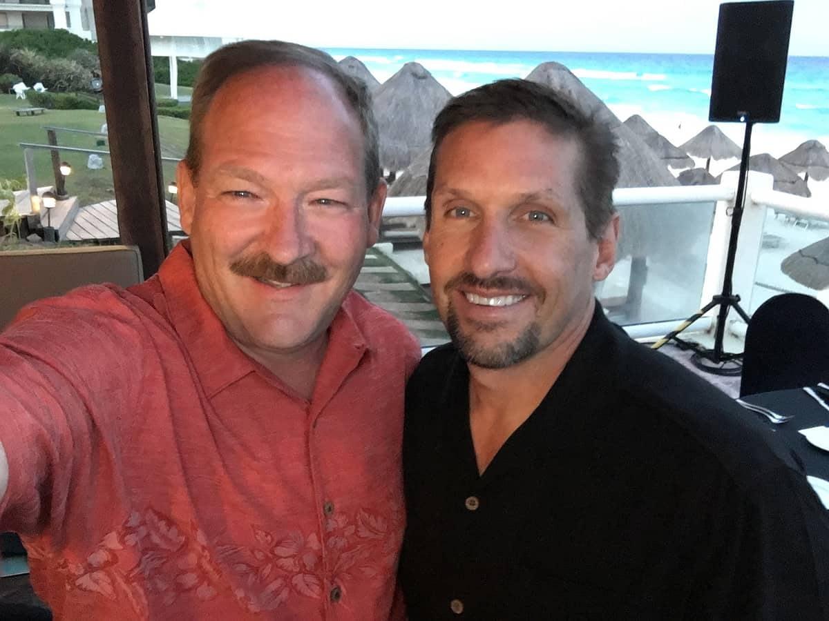 Rick Billings & Mark Wilson, President of ARIIX