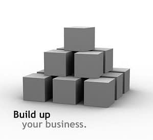 build a business to get rich